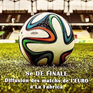La Fabrica diffuse les matchs de l'EURO ⚽️🏆Dès demain, diffusion des 8èmes de finale ! Fan de foot ou pas, venez à La Fabrica ! #football #euro2020 #match #yverdonlesbains #barlounge